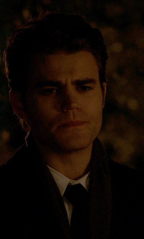 Paul Wesley with Tagliatore Two Piece Suit in The Vampire Diaries