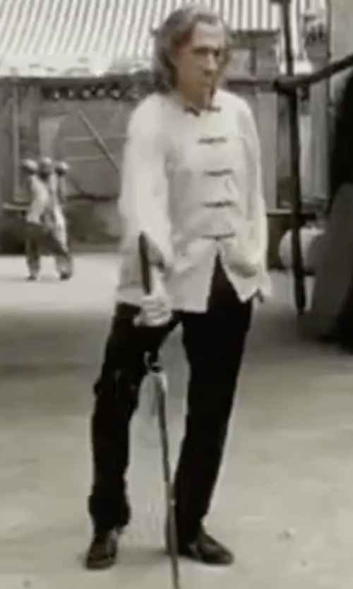 David Carradine with Manuel Ritz Casual Chino Pants in Kill Bill: Vol. 2