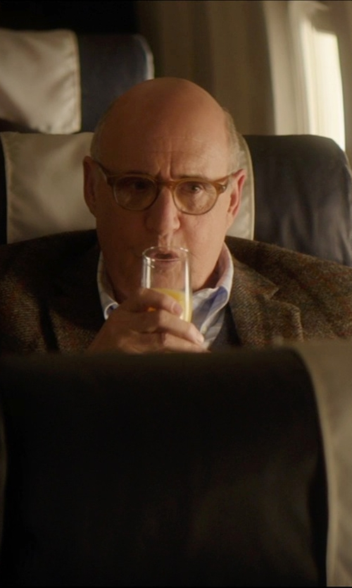 Jeffrey Tambor with Palm Beach Glen Plaid Windowpane Sport Coat in The D Train