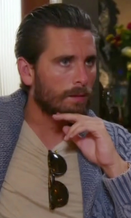 Scott Disick with Garrett Leight Kinney Sunglasses in Keeping Up With The Kardashians