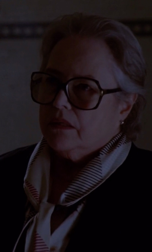 Kathy Bates with Master&Muse x Lemlem Oblong Scarf in American Horror Story