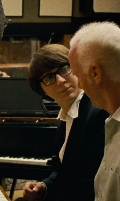 Paul Dano with Retro Super Future 'América' Glasses in Love & Mercy