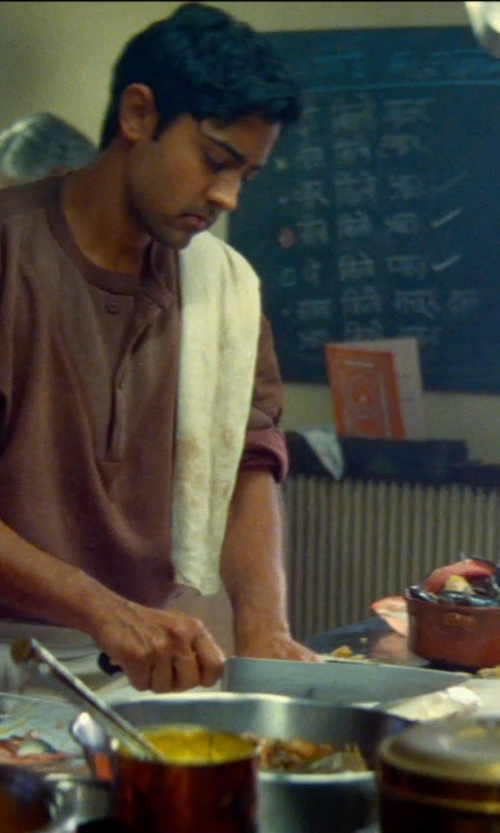 Manish Dayal with Wusthof Gourmet 8-Inch Cook's Knife in The Hundred-Foot Journey