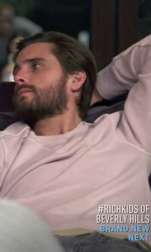 Scott Disick with 321 Crew Neck Sweater in Keeping Up With The Kardashians