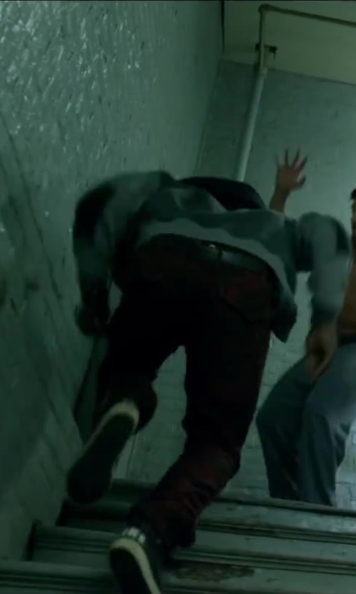 Unknown Actor with Trukfit Camo Cargo Pant in Brick Mansions