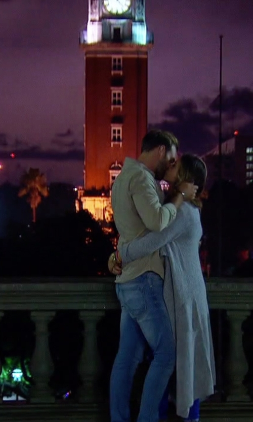 JoJo Fletcher with Torre Monumental Buenos Aires, Argentina in The Bachelorette