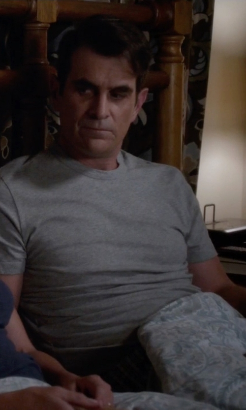 Ty Burrell with Carhartt Men's Maddock Non Pocket Short Sleeve T-Shirt in Modern Family