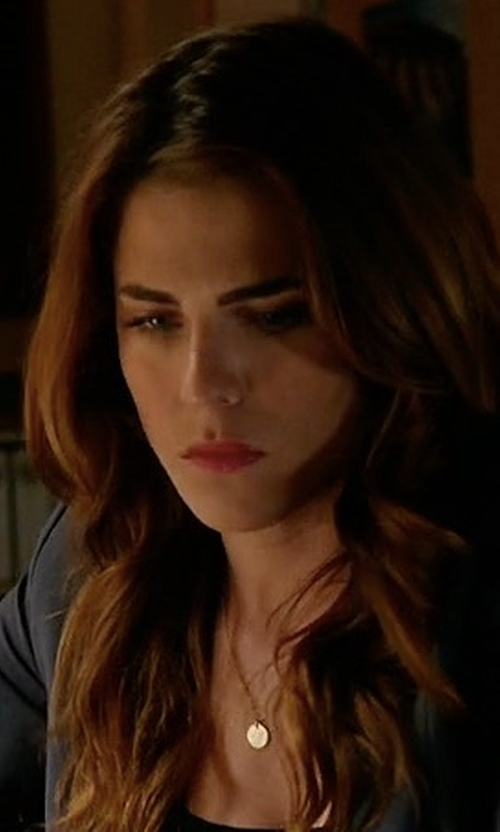 Karla Souza with Roberto Coin Diamond Ribbon Necklace in How To Get Away With Murder