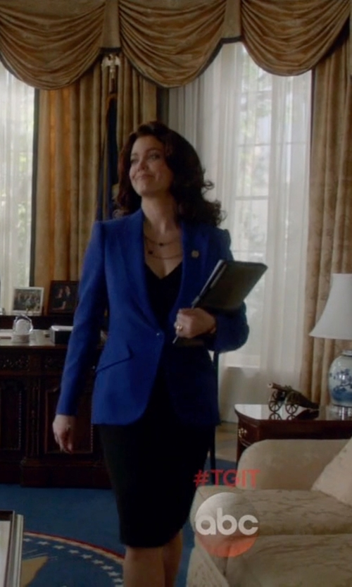 Bellamy Young with Jennifer Zeuner Double Layer Mini Stars Necklace in Scandal