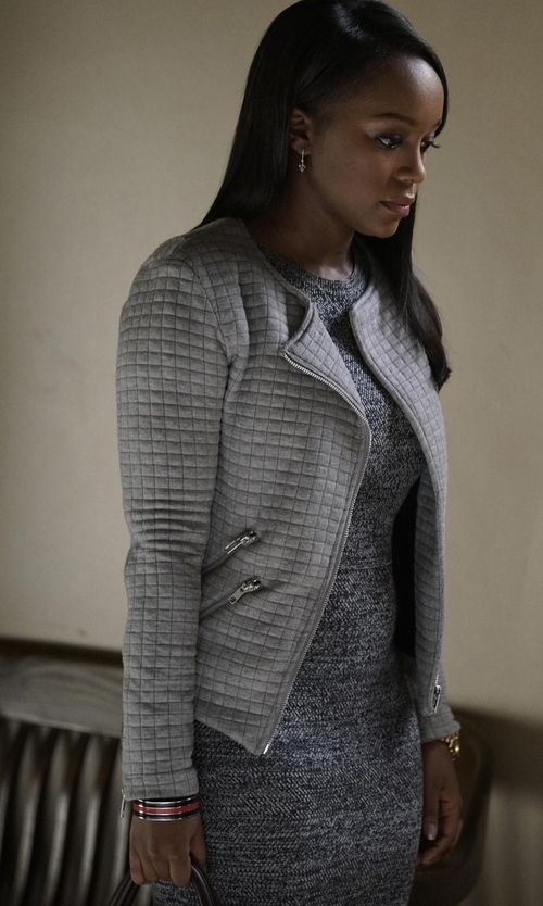 Aja Naomi King with Kate Spade New York Out Of The Loop Bangle Bracelet in How To Get Away With Murder