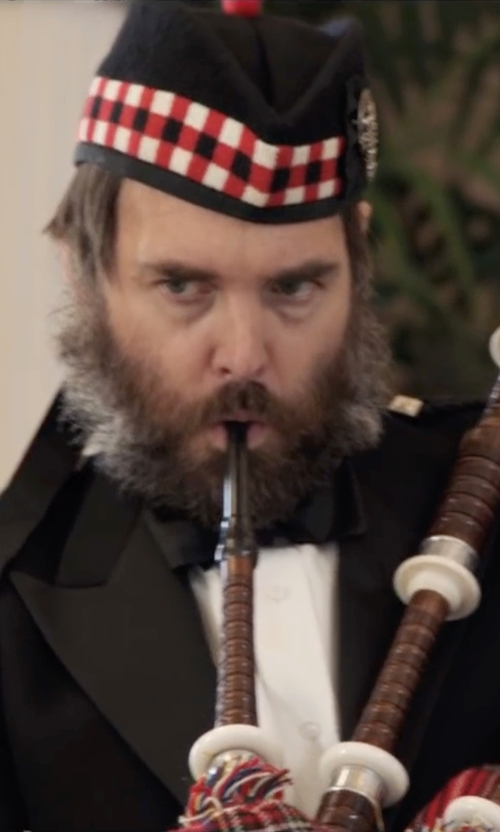 Will Forte with Tartanista Wool Balmoral Kilt Beret in Popstar: Never Stop Never Stopping