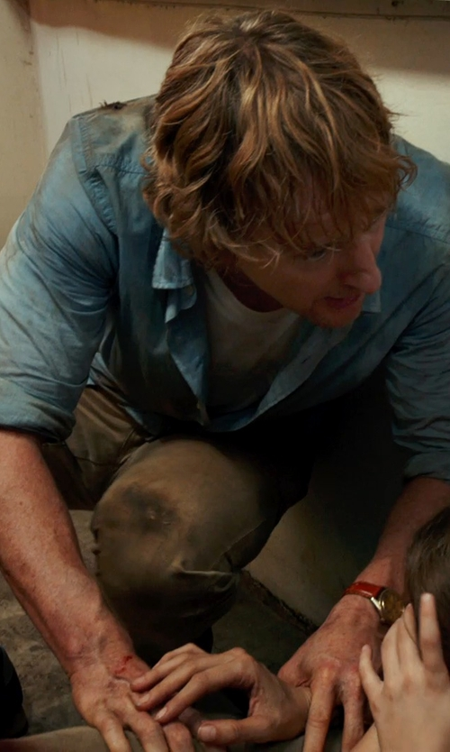 Owen Wilson with Levi's Chino Pants in No Escape