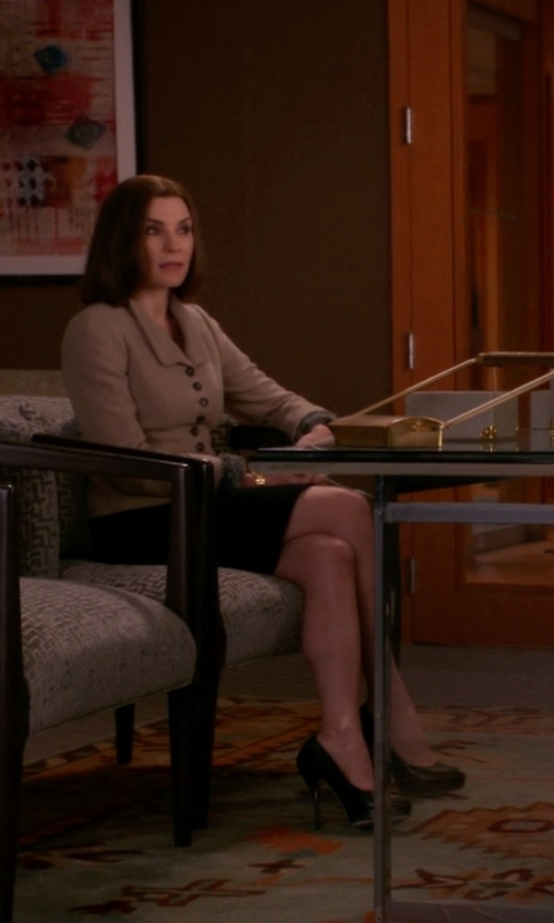 Julianna Margulies with Ivanka Trump Kimo Pumps in The Good Wife