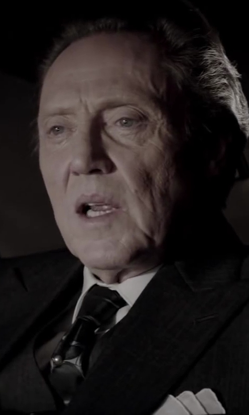 Christopher Walken with BARNEYS NEW YORK Pocket Square in Jersey Boys