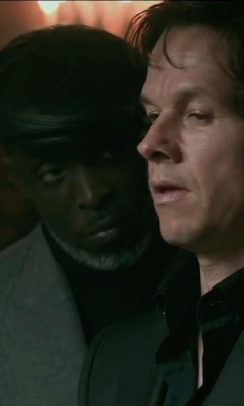 Michael Kenneth Williams with Haider Ackermann Herringbone Blazer in The Gambler
