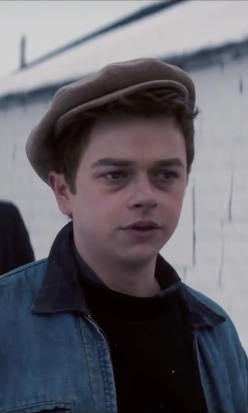 Dane DeHaan with Stetson Ivy Driving Cap in Life