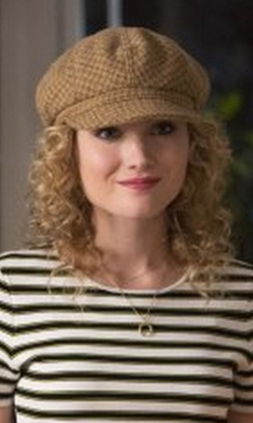Skyler Samuels with Goorin Bros. Cabbie Hat in Scream Queens