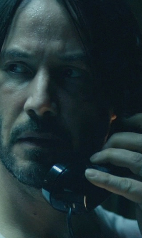 Keanu Reeves with Tiffany & Co. Wedding Band Ring in John Wick