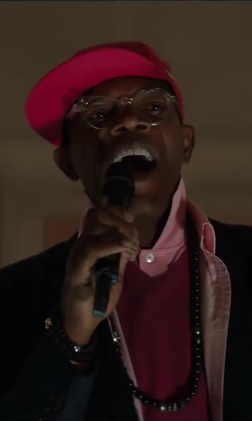 Samuel L. Jackson with New Era MLB 59Fifty League Basic in Kingsman: The Secret Service