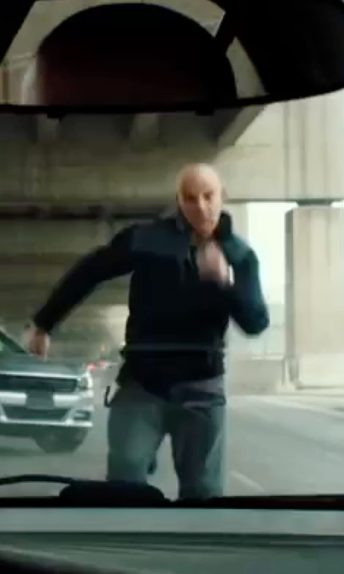 Vin Diesel with Under Armour  Men's Colorblocked Warm-Up Jacket in xXx: Return of Xander Cage