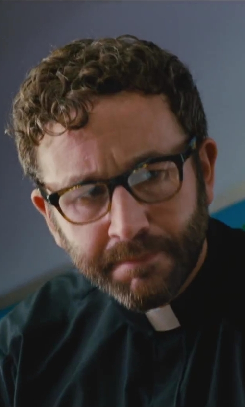 Chris O'Dowd with Saks Fifth Avenue Collection Reading Glasses in St. Vincent