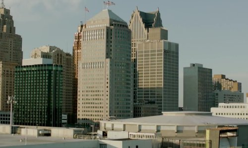 Detroit Michigan, USA in Brick Mansions