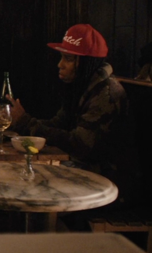 Lena Waithe with Barbour Bateleur Quilted Jacket in Master of None