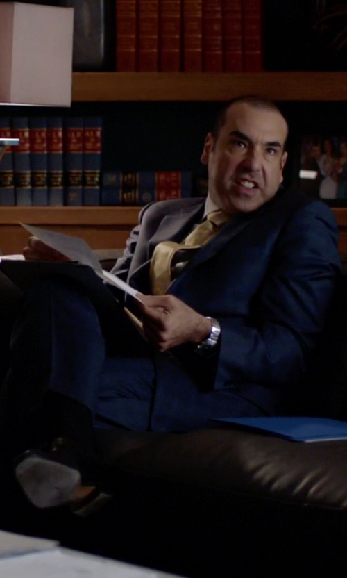 Rick Hoffman with Allen Edmonds 'Clifton' Blucher Oxford Shoes in Suits