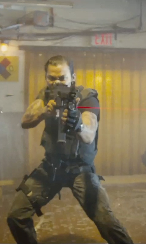Tony Jaa with NcStar Tactical Vest Digital Camo Acu in Furious 7
