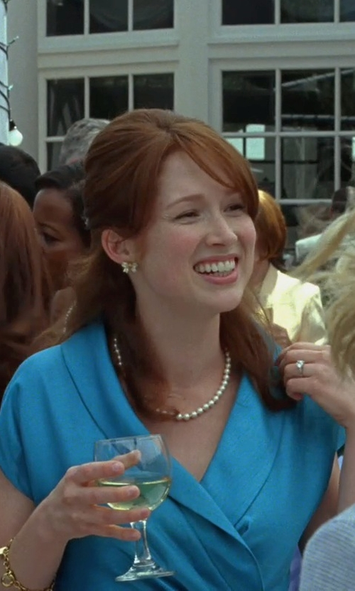Ellie Kemper with Bloomingdale's Diamond Solitaire Ring in Bridesmaids