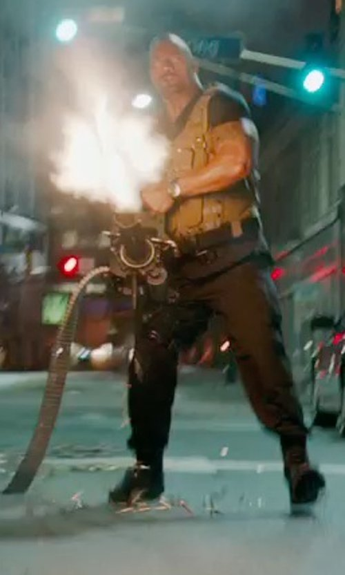 Dwayne Johnson with Under Armour TAC Base Pant in Furious 7