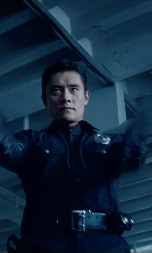Byung-hun Lee with Torino Leather Co. Reversible Aniline Leather Belt in Terminator: Genisys