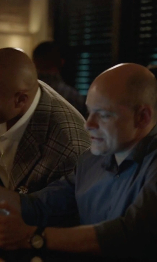 Rob Corddry with Samsung Galaxy Note Pro Tablet in Ballers
