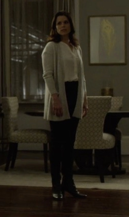 Neve Campbell with Raye X Tularosa Avalon Booties in House of Cards