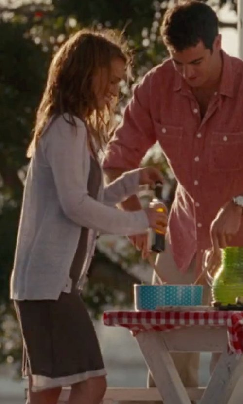 Natalie Portman with Lucky Lu Slip Dress in No Strings Attached