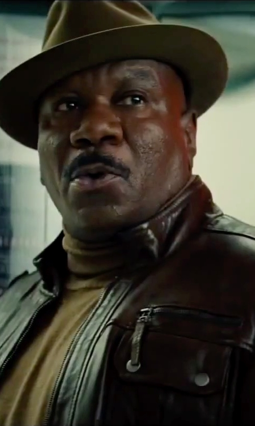 Ving Rhames with Barbisio Homburg Fedora Hat in Mission: Impossible - Rogue Nation