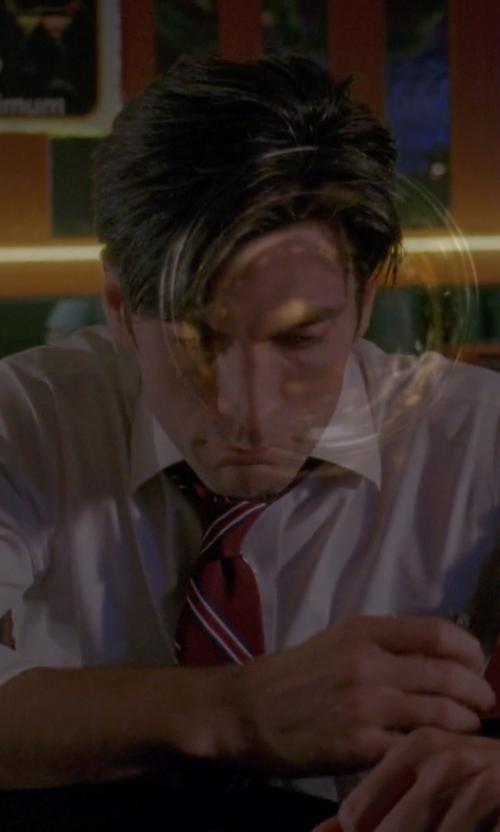Wes Bentley with Hugo Boss Ambassador Watch in American Horror Story