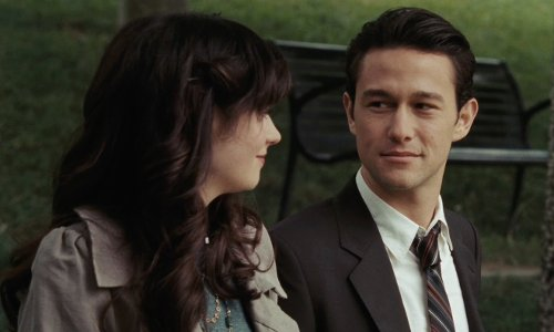 Joseph Gordon-Levitt with Angel's Knoll Los Angeles, California in (500) Days of Summer