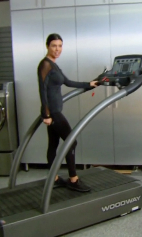 Kourtney Kardashian with Woodway Four Front Fitness Treadmill in Keeping Up With The Kardashians