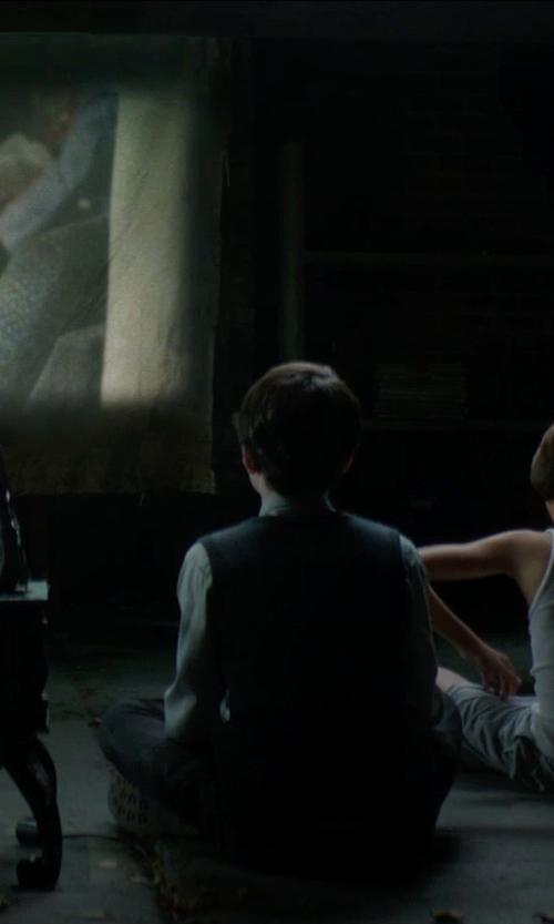 Lucas Jade Zumann with Chaps Gabardine Dress Pants in Sinister 2