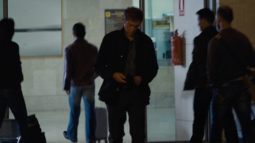 Vincent Cassel with Burberry Straight-Fit Five-Pocket Jeans in Jason Bourne
