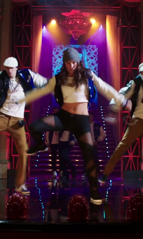 Briana Evigan with Vince Newman High Top Sneakers in Step Up: All In