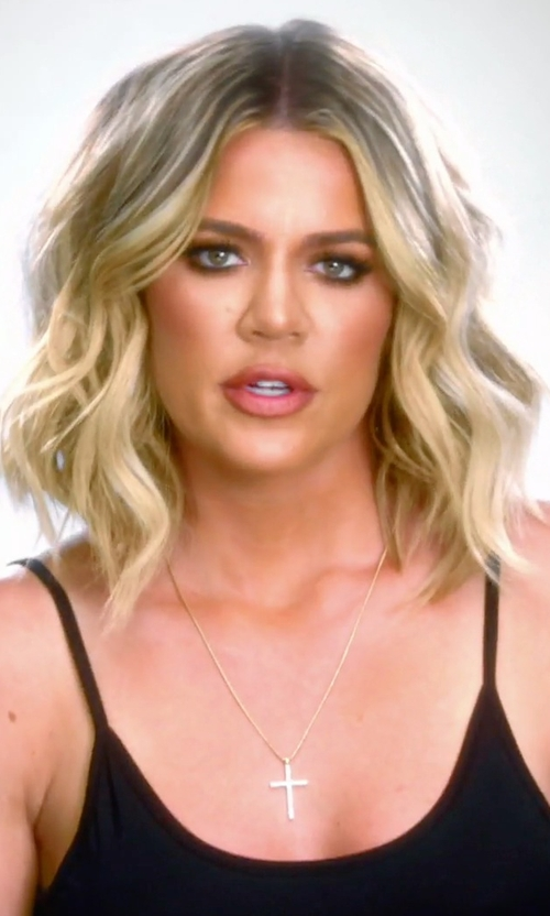 Khloe Kardashian with Commando Double-Faced Stretch-Knit Camisole in Keeping Up With The Kardashians