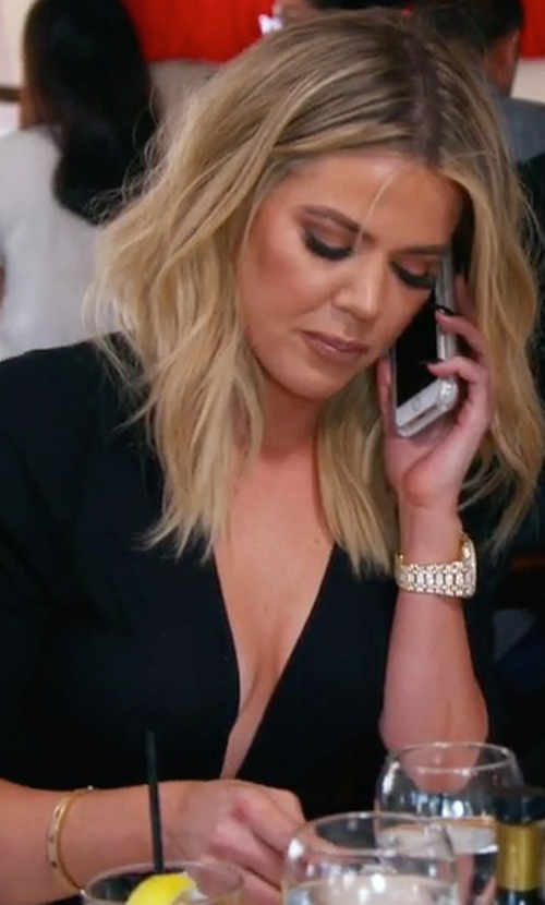 Khloe Kardashian with Cartier Love Bracelet in Keeping Up With The Kardashians