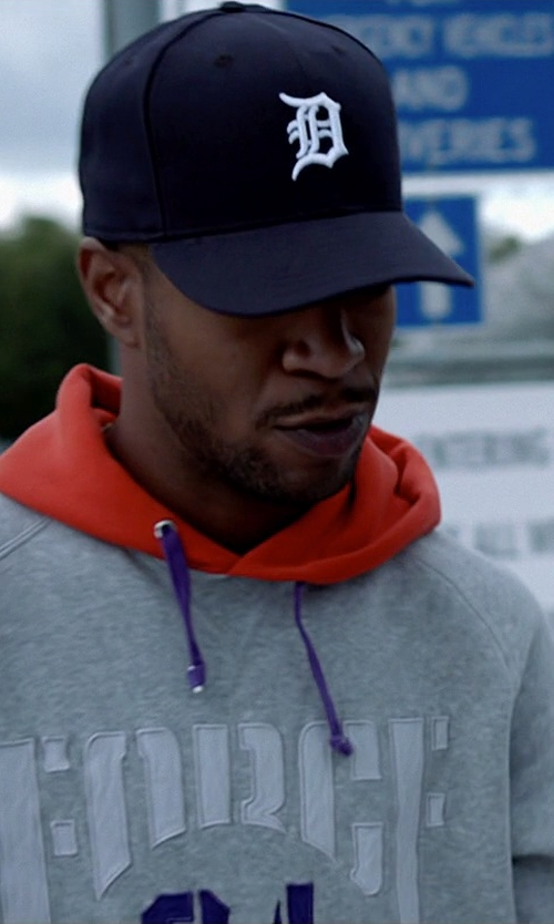 Scott Mescudi with New Era MLB Hat Detroit Tigers Baseball Cap in Need for Speed