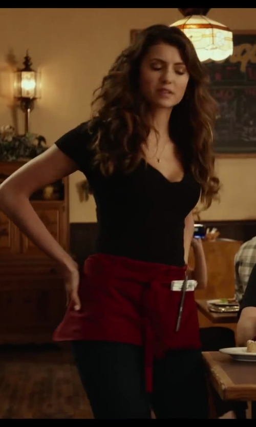 Nina Dobrev with Fame Adult's 3 Pocket Waist Apron in Let's Be Cops