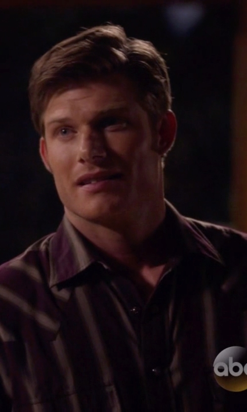 Chris Carmack with Robert Graham Stripe Sport Shirt in Nashville