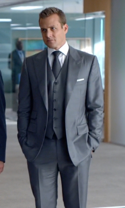 Gabriel Macht with Tom Ford Peak Lapel Suit in Suits