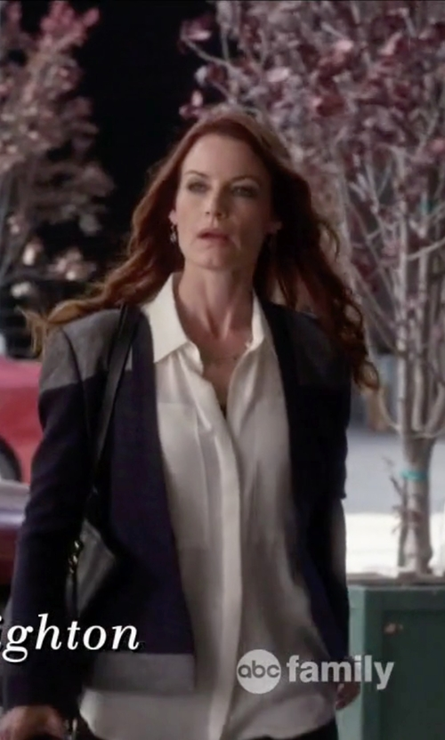 Laura Leighton with Ippolita Mini Lollipop Earrings in Pretty Little Liars