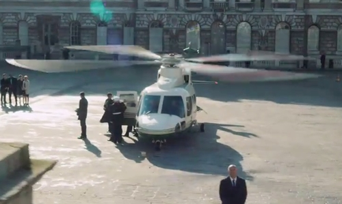 Unknown Actor with Sikorsky S-76 Helicopter in London Has Fallen